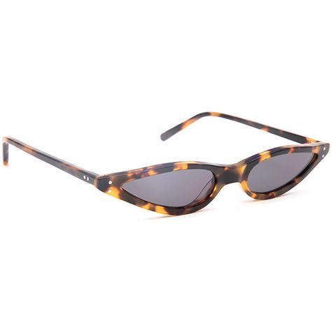 e867aef502c George Keburia George Keburia Tortoiseshell Sunglasses ( 215) ❤ liked on Polyvore  featuring accessories