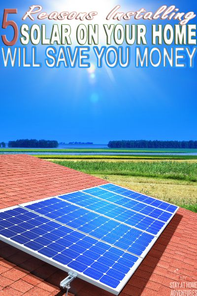 Go Solar Here Are Five Reasons For Installing Solar On Your Home Will Save You Money And Will Even Make You Mon With Images Solar Panels Solar Best Solar Panels