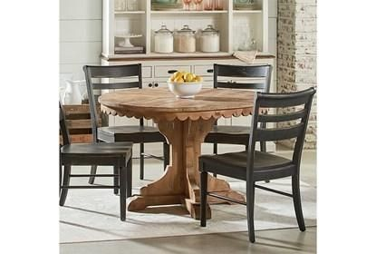 Magnolia Home Top Tier Round Dining Table By Joanna Gaines Round Dining Table Dining Table Dining Room Small