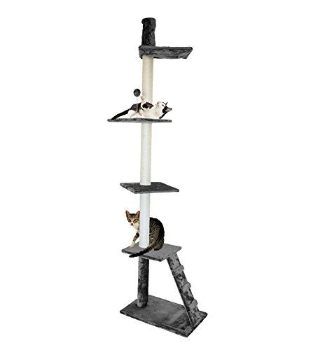 Furhaven Tiger Tough Cat Tree House Furniture For Cats An Https Smile Dp B01kx69q96 Ref Cm Sw R Pi Dp U X Rv Cat Tree House Furhaven Cat Ladder