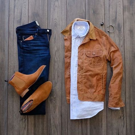 Casual Chic, Moda Casual, Men Fashion Show, Mens Fashion, Dad Outfit, Fashion Network, Leather Jacket Outfits, Sweaters And Jeans, Streetwear
