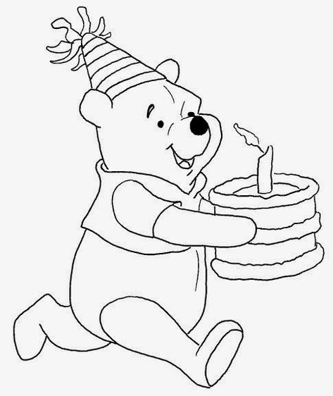 Desenhos E Riscos Do Ursinho Pooh E Sua Turma Para Colorir Pintar