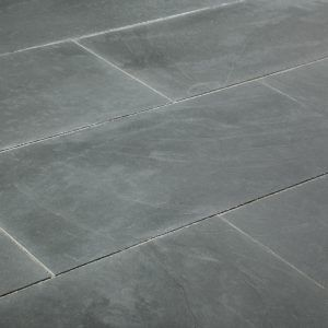 Honed Grey Slate Floor Tiles Slate Floor Kitchen Tile Floor Slate Flooring