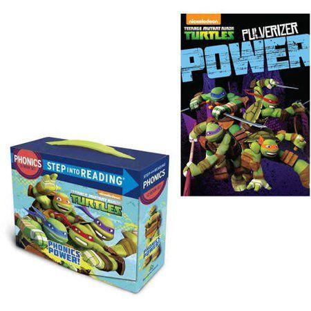 Teenage Mutant Ninja Turtles Phonics Power!