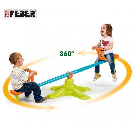 Hustawka Ogrodowa Dla Dzieci Rownowazna 2w1 Feber Twister Twister Park Slide