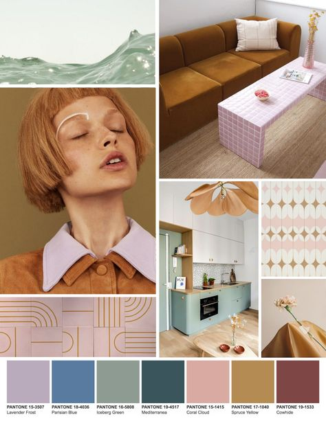 Color trends starting with Pantone 2021 Eclectic folk