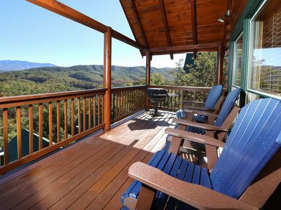 4br Mountain View Cabin W Theater Hot Tub Newly Renovated Hot Tub Outdoor Cabin Ideal Home