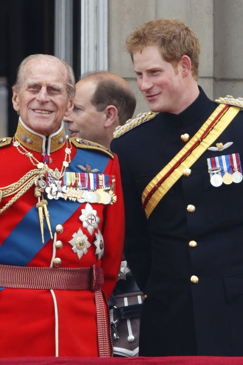 Prince Harry Released a Touching Message to Prince Philip