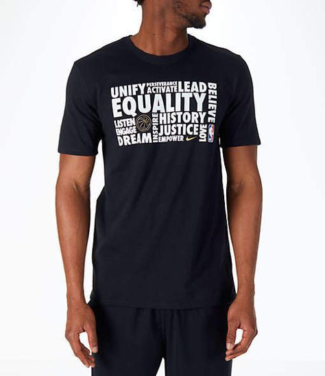 fefb4dac Nike Men's NBA Black History Month T-Shirt
