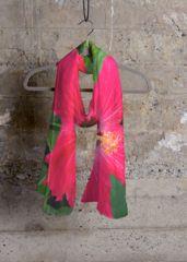 Cashmere Silk Scarf - Whimsical Silk Scarf by VIDA VIDA vrAsoYS
