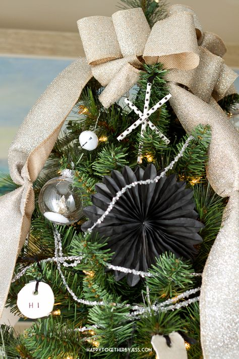 Six Christmas Tree DIY Decorating Tips | happy together