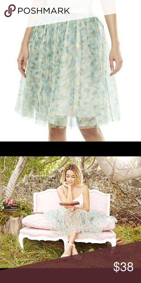 LC Lauren Conrad Blue Disney Tulle Cinderella Castle Fairy