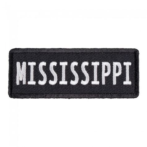 Mississippi State Patch United States Of America Patches Patches Mississippi State Mississippi