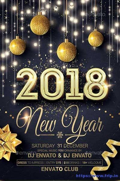60 Best New Year Flyer Print Templates 2021