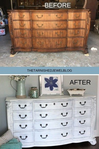 Painting 101 White Washed Dresser Tutorial White Wash Dresser White Washed Furniture Spray Paint Furniture