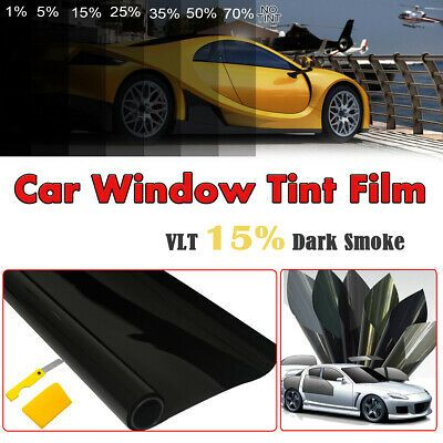 Sponsored Link Solar Tint Car Window Film Heat Reduction Sticker Vlt 15 Uv Anti Window Tint 7m Window Tint Film Tinted Windows Shade Film