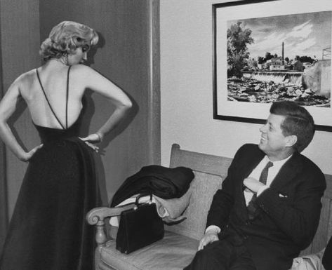 … Marilyn Monroe. Most people have heard of the United States' 35th President and the starlet's famous relationship. After meeting at a party in February 1962 the two embarked on a whirlwind yet short-lived tryst. The result left Monroe enamored, but the feeling was not reciprocated.