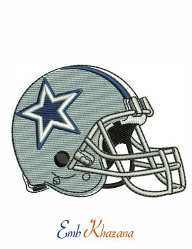 Dallas Cowboys Helmet embroidery pattern download   National