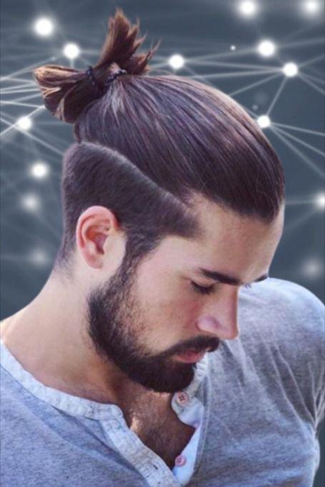 Ponytail Undercut For Men Undercut Long Hair Medium Length Hair Men Undercut Hairstyles