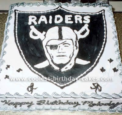 raider cake. I HATE them, but he loves them.