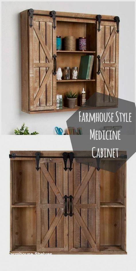 17++ Diy barn door medicine cabinet ideas