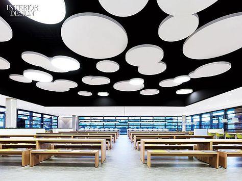 light, cantine, Breuninger Kantine by DIA – Dittel Architekten
