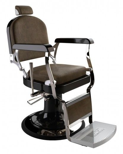 Pietranera Barberchair Classic 560 Black Cde Salondesign Stuhl Schwarz Stuhle Schwarz