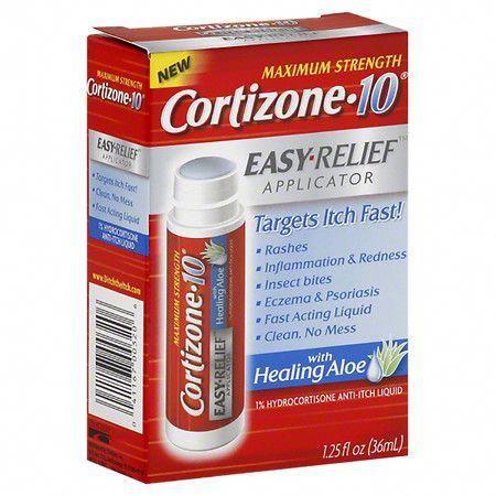 Cortizone 10 Maximum Strength Easy Relief Applicator Anti Itch