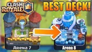 Best No Legendaries Deck In Clash Royale Win Every Battle Clash Royale Battle Deck