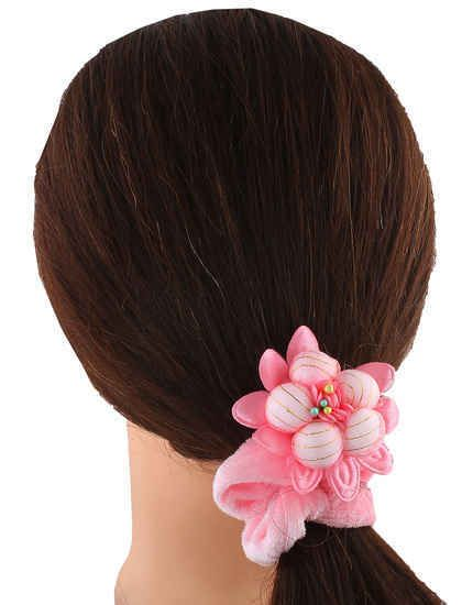 Anuradha Art Jewellery Offers The Wide Range Of Fancy Rubber Bands At Best Price Hair Rubber Bands Hair Ties Hair Rubber Bands Hair Jewelry Hair Accessories