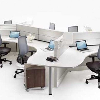 View pictures and information on open office systems cubicles workstations and partitions through the las vegas office for fci design
