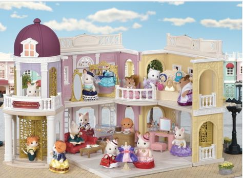 Sylvanian Families TS-02 Delicious Restaurant Town Series Calico Critters