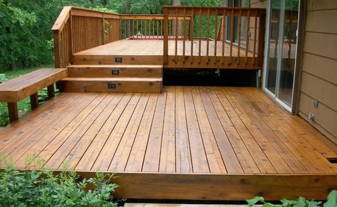 Fabriquer un escalier de patio Decking, Deck plans and Patios - realiser un escalier exterieur
