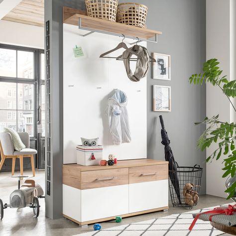 Garderobenpaneel Nerola Garderobenset Garderoben Set