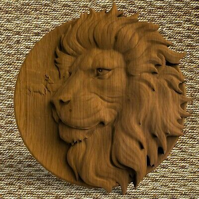 Lions Head Animals Ornament Wood Carved Plaque Wall Hanging Art Work Home Decor In 2020 Wood Carving Patterns Wood Carving Faces Wood Carving Art