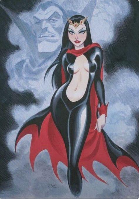 Lilith by Bruce Timm Art Arte Vampires Vampiri Horror Bruce Timm, Cartoon Kunst, Comic Kunst, Cartoon Art, Comic Book Artists, Comic Artist, Comic Books Art, Arte Horror, Horror Art