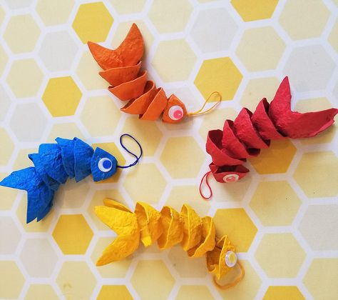 Brainy Beginnings Network Dancing Fish Crafts With Kids