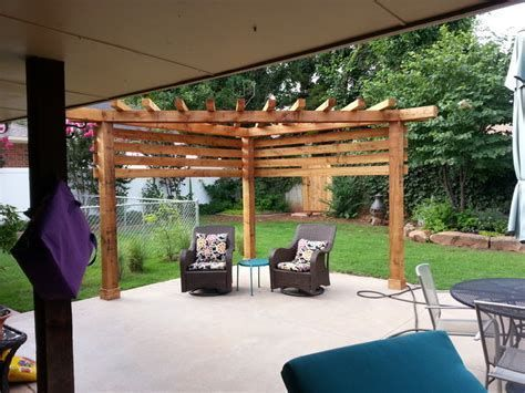Epingle Sur Covered Patios And Pergolas