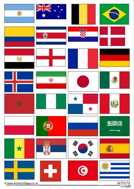 World Cup 2018 Flags World Cup 2018 World Cup World Cup 2018 Teams