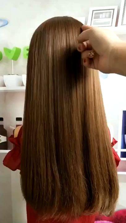 Hair Styling Video Frauen Frisur Hair Hair Styles Long Hair Styles