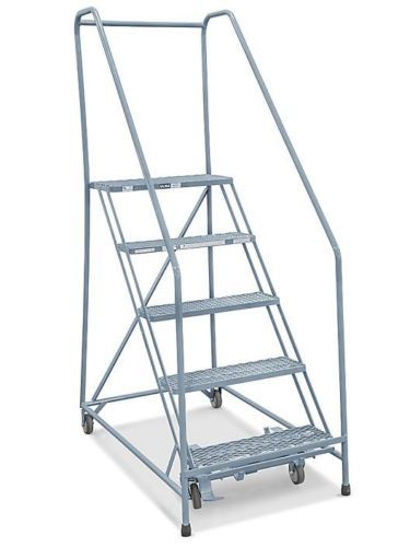 5 Step Safety Angle Rolling Ladder Rolling Ladder Safety Ladder Ladder