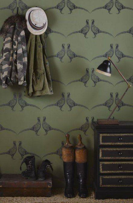 Farmhouse Pantry Wallpaper 38 Ideas Pantry Wallpaper Wallpaper Living Room Cottage Wallpaper