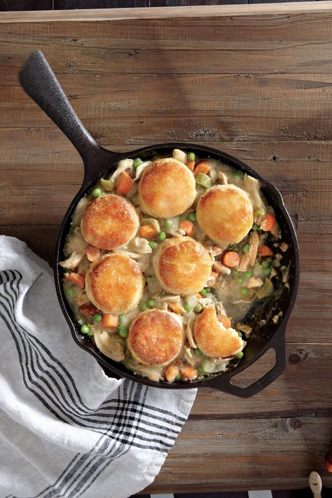 Biscuit-Topped Chicken Potpie