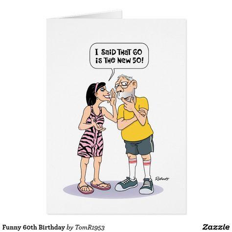 Funny 60th Birthday Card