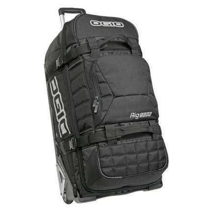 Ogio Rig 9800 Wheeled Motorbike Gear Bag Le Black Gear Bag Bags Luggage Bags