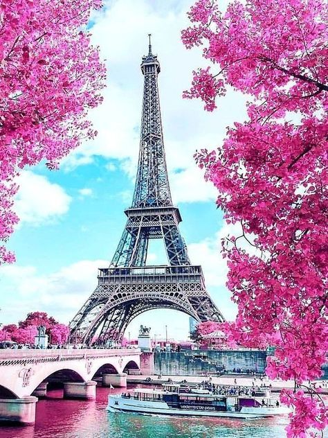 Image About Pink In Travelholic By Diana Harris Paris Wallpaper