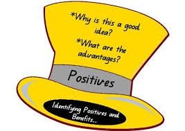 The Yellow Hat Calls For Optimism Positive Aspects The Yellow Hat Is For Optimism And The Logical Positive View Six Thinking Hats Group Discussion Yellow Hat