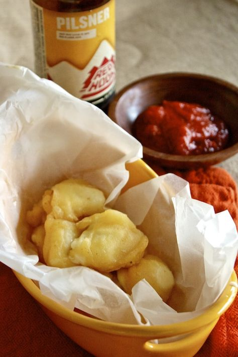 Beer Battered Cheese Curds - Country Cleaver