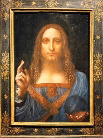 Who Bought The World S Most Expensive Painting Leonardo Da Vinci Canvas Giclee Most Expensive Painting