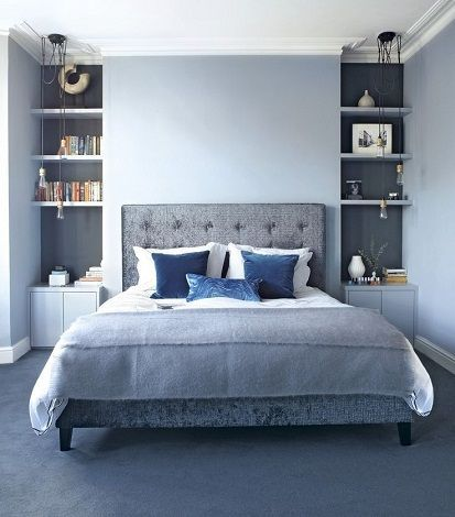 15 Most Beautiful Bedroom Designs For Couples In 2018 Bedroomdesignforcouples Blue Bedroom Decor Beautiful Bedroom Designs Bedroom Designs For Couples